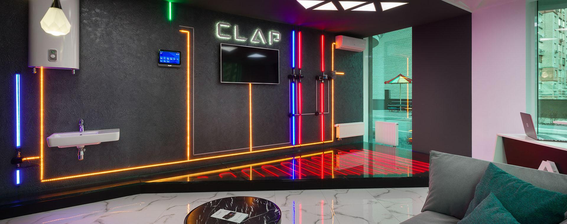 Clap флагманський шоу-рум