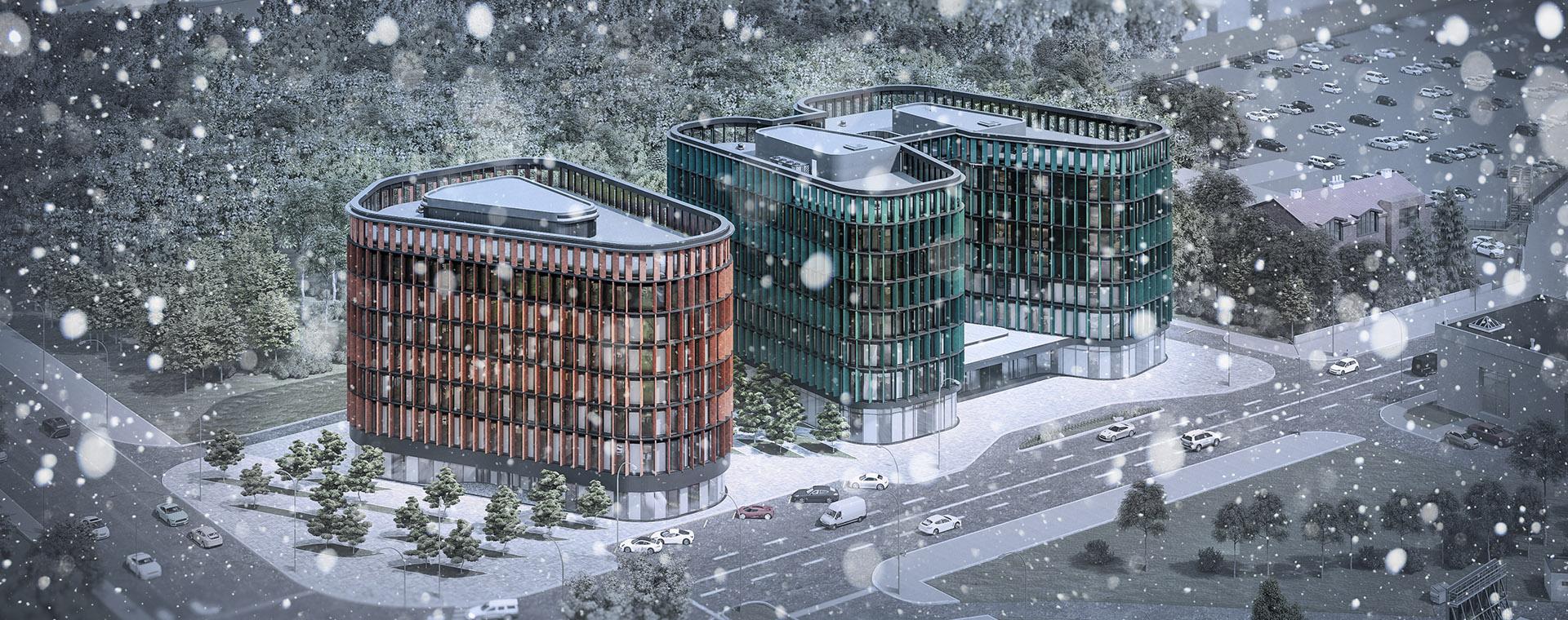 AVG Group готельно-офісний комплекс LA 45
