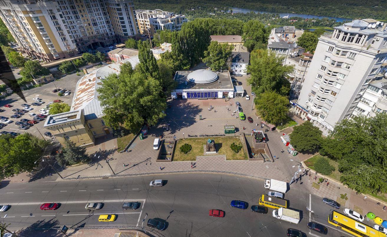 Арсенальна площа до реконструкції
