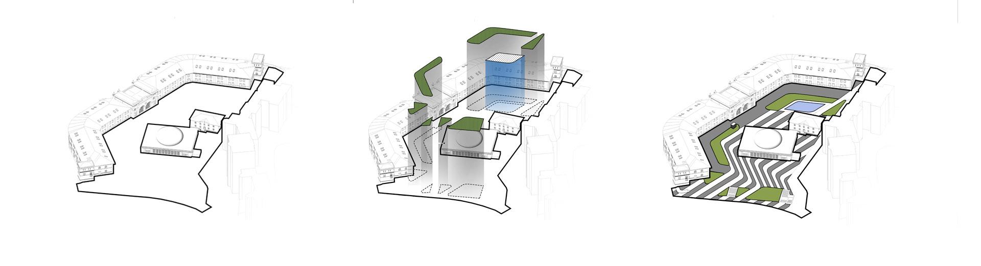 Концепція формотворення Арсенальна площа