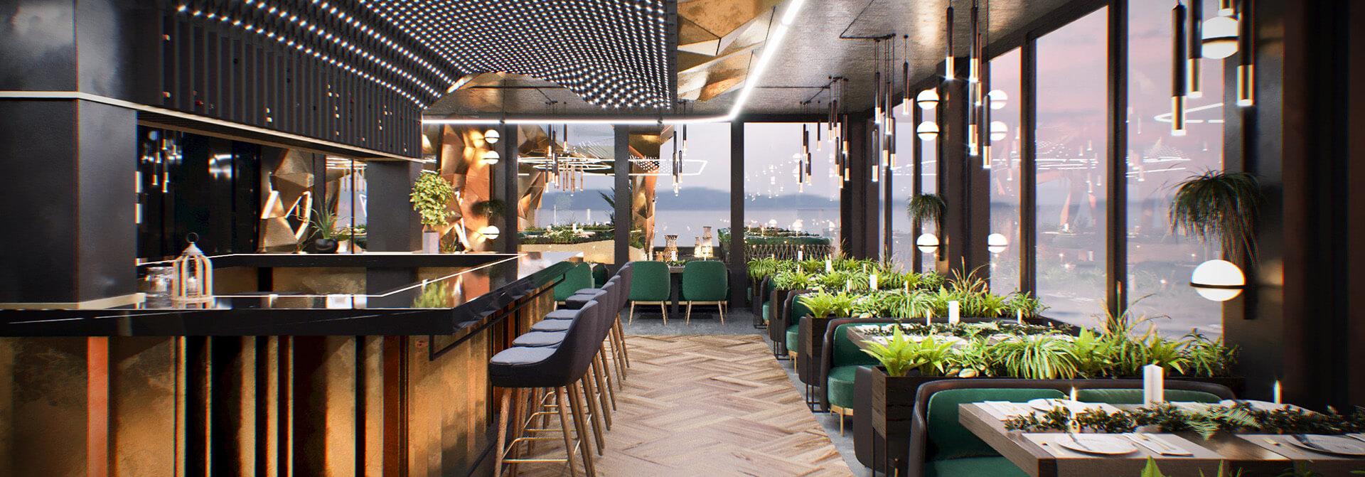 Riviera ресторанний комплекс AVG Group