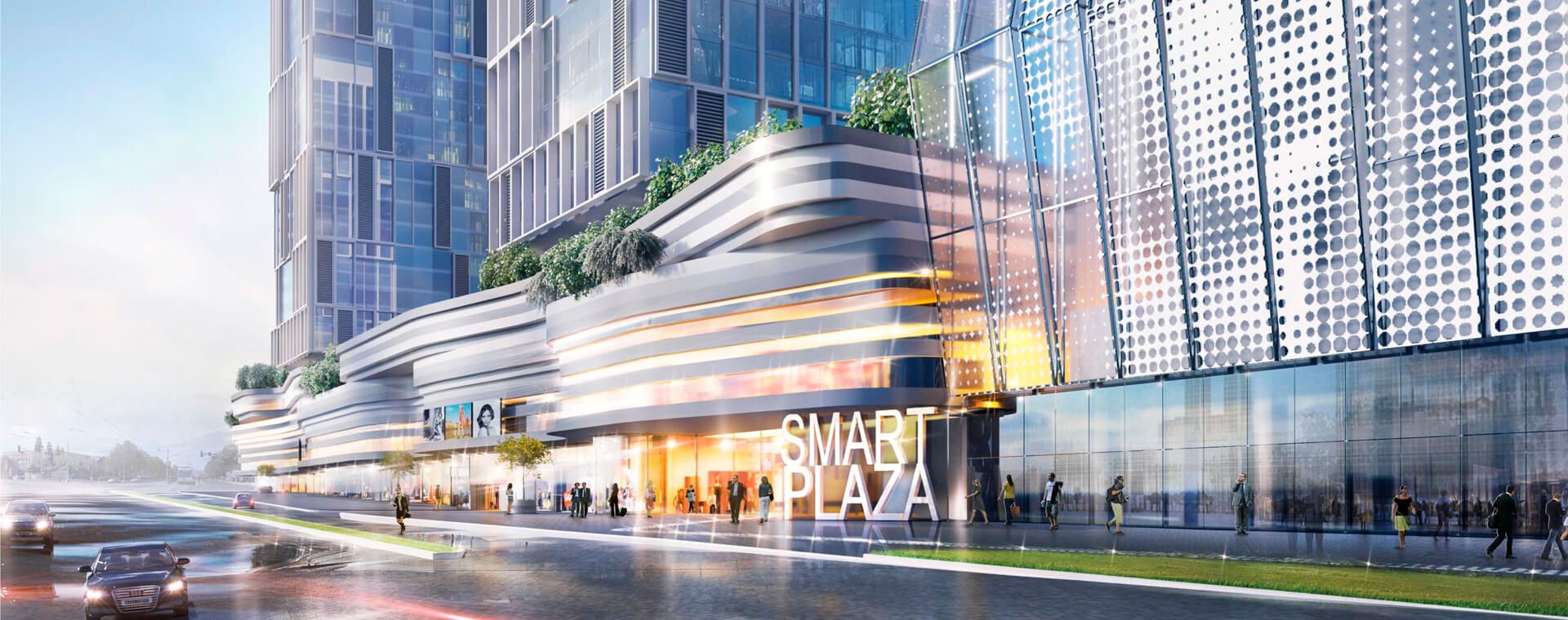 Smart Plaza Goloseevo Киев
