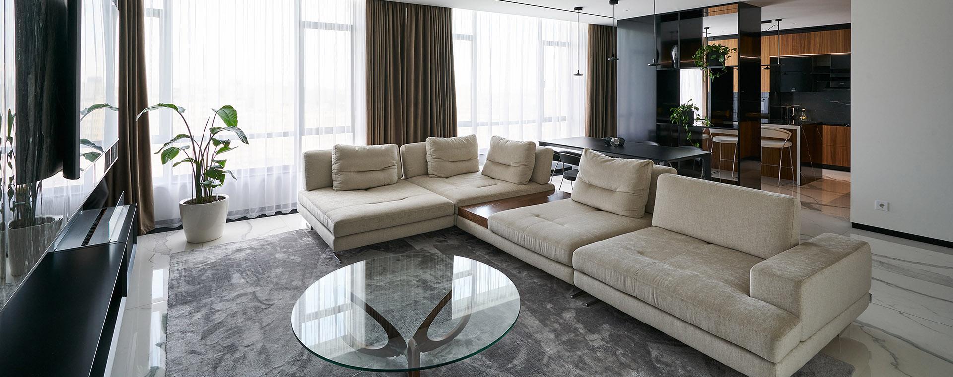 AVG Group інтер'єр апартаментів м. Київ